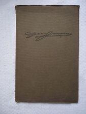 Georg Jensen Silversmith Artist Exhibition Catalog Paris Softcover Book George