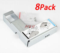 """NEW 8PCS DELL 9W8C4 Y004G 2.5"""" to 3.5"""" Adapter for F238F/KG1CH/651314 Tray Caddy"""