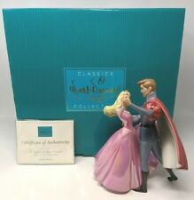 WDCC Disney Aurora & Phillip A Dance in The Clouds Sleeping Beauty Box COA A003