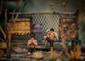 Miniature Figure Muaythai Ong Bak H0 Scale 1/87 or 1/64 Diecast