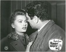 Männer mögen's so Aushangfoto Il Segno di Venere Sophia Loren Raf Vallone Sica