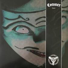 CORONER - Grin 2 x LP - Green Colored Vinyl - SEALED - Remastered Reissue Thrash