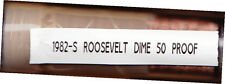 50 ROOSEVELT PROOF DIMES 1982-S  Complete Roll of 50