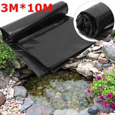33ftx 10ft Fish Pond Liner Garden Pools HDPE Membrane Reinforced Landscaping USA