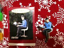 1996 Hallmark Keepsake Christmas Ornament - Star Trek - Mr. Spock