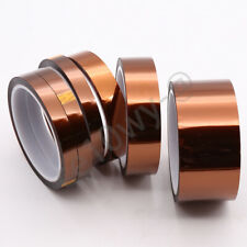 1 Roll 50mm High Temperature Polyimide Kapton Tape Adhesive Heat Resistant 33m