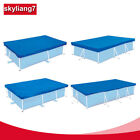 Rectangular Swimming Pool Cover for Intex Bestway Garden Paddling Pools Cover S