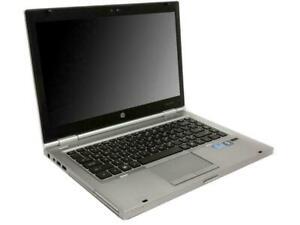 HP EliteBook 8460p Intel 2520M Core i5 2x2.50 GHz | 14 | 8192 MB DDR3 |DVD