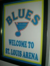 St. Louis Blues Hockey Throwback Gameroom Bar Man Cave Lighted Sign