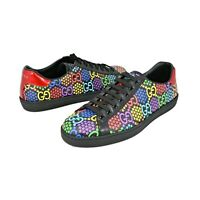 New In Box Gucci Men's GG Psychedelic Ace Sneaker Size US 8.5/ G 8