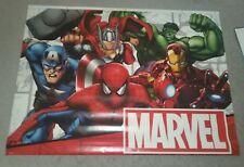 Marvel Super Heroes Store Display 48w X 35h Iron Man Hulk Spider-Man Capt Amer