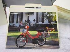 NOS Honda 1982 MOPED   DEALER SALES BROCHURE