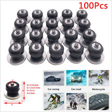 100x Car Motorcycle Tires Studs Spikes Wheel Snow Chains Anti-Slip Spikes 12x8mm