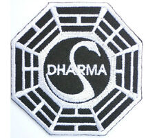 Dharma LOST Swan Initiative Embroidered Iron On Badge Patch 2.9""