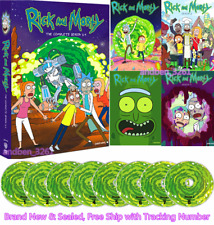 RICK and MORTY: THE COMPLETE SERIES SEASON 1-4 (DVD US Seller) Free Shipment New