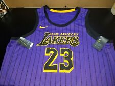 Nike Los Angeles Lakers Lebron James 2018/2019 ciudad edición Swingman Jersey 3XL