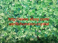 100g Wholesale NATURAL Green Octahedral Fluorite QUARTZ Crystal body gem