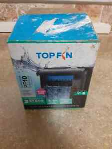 Top Fin Silentstream PF10 Power Filter For 5-10 Gallon Aquarium OPEN BOX