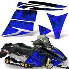 Decal Graphic Kit Ski Doo Rev Skidoo Sled Snowmobile Sticker Wrap 03-09 ICE BLUE