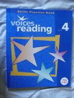 Zaner-Bloser   Voices Reading   Grade 4   Skills Practice Book