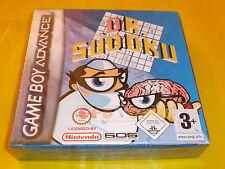 D.R. SUDOKU Game Boy Advance Gba Dr Versione Europea ○○ NUOVO - CA