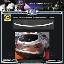 QASHQAI +2  CHROME BUMPER SILL COVER HIGH QUALITY 5y GUARANTEE 2008-2015