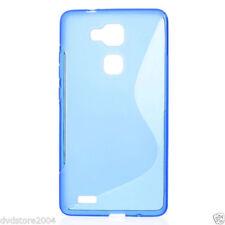 Cover e custodie Blu Per Huawei Mate S in pelle sintetica per cellulari e palmari