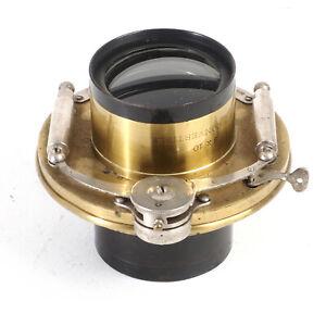 """:Bausch & Lomb 8x10 Rapid Convertible 24"""" 610mm f8 Lens in Unicum Shutter (Read)"""