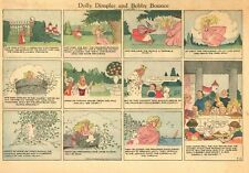 Dolly Dimples and Bobby Bounce - Grace G. Drayton - 1932 - Two Sunday Funnies