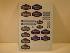 "DECALS 1/24 TABAC "" ROTHMANS "" - VIRAGES T16"