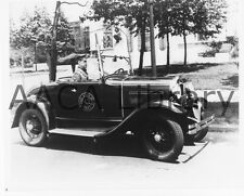 1930 Ford Model A Roadster, Philadelphia Police, Photo / Picture (Ref. # 41768)