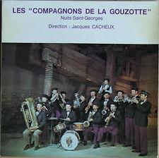 """LES """"COMPAGNONS DE LA GOUZOTTE"""" NUITS ST GEORGES   45 TOURS 4 TITRES"""