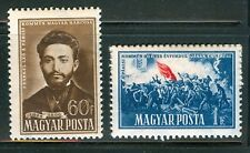 HUNGARY-1951.- Commune of Paris Cpl.Set MNH!! Mi 1163-1164