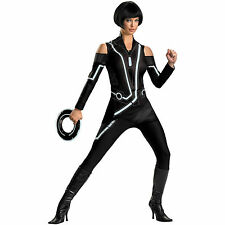 NEW! TRON QUORRA DELUXE L 12-14 Sexy Adult Women's DISGUISE Future ISO Costume
