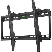 "37""-65"" LCD LED Plasma Dual Hook, Flush Tilt TV Wall Mount Bracket Flat Screen"