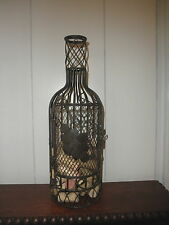 Decorative Wire Bottle for Collecting Wine Corks