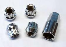 Ford Escort, Fiesta Locking Wheel Nuts, M12x1.5mm Open End Type N10/OE