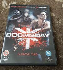 DOOMSDAY DVD RATED 18