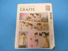 Vintage Sewing Pattern, McCall's 9445, Crafts, Christmas Decorations, S701