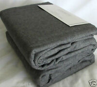 THE BEST Dormisette German Flannel Duvet Set 100% Cotton Queen or King Dark Gray