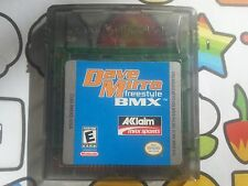Nintendo Gameboy Color DAVE MIRRA FREESTYLE BMX Video game FREE  POSTAGE advance