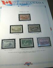 Canada Stamp Scott# 268-273 Farm Scene & etc. 1946 MH & MNH L392