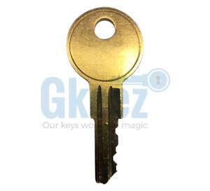 1101X 8025 keys for 1965-2012 Coleman Campar PopUP Step Up Door Pre cut to code