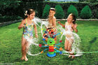 BANZAI KIDS SILLY WIGGLING WATERPILLAR,DANCING CATERPILLAR WATER SPRINKLER TOY