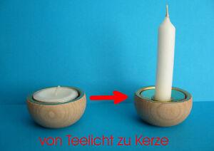 Adapter zum Umrüsten von Teelicht auf Kerze, Zubehör für Pyramide, Erzgebirge