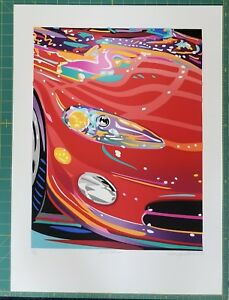 AUTO SHOW VIPER Limited Edition Serigraph by Randy Owens