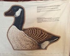 CANADA GOOSE CENTERPIECE Fabric VIP Panel WILD BIRD COLLECTION Cranston UNCUT