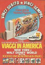 X2274 Biscotti Accornero - Nonna Papera - Pubblicità 1983 - Advertising