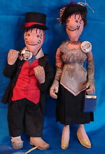 Rare Maggie and Jiggs Dolls-Contest Winners Theriaults Auction!