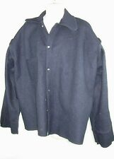 Men's National Safety Apparel wool Blue winter jacket, coat  SiZE  EXL